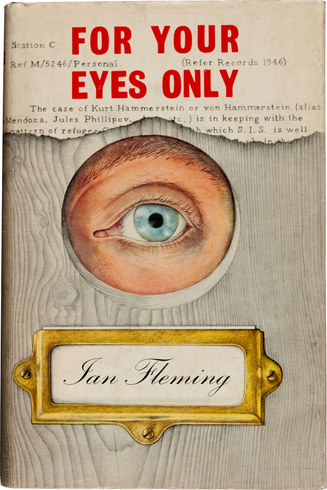 For Your Eyes Only book cover