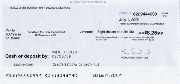 Great Fun check scam