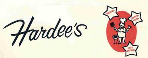 Hardee's logo (1962)