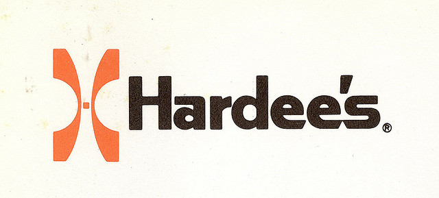 Hardee's logo (circa early 1970s)