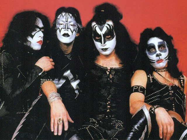 Kiss (1974) band photo