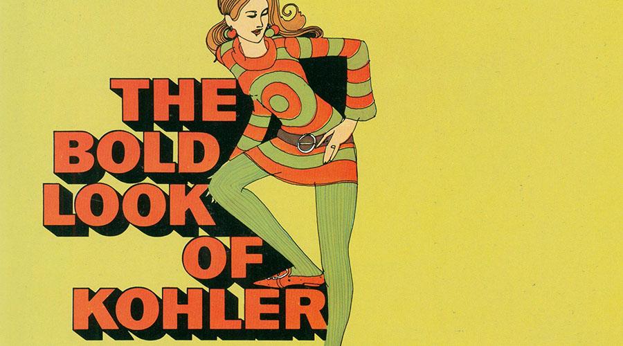 The Bold Look of Kohler Harvest Gold (1969)