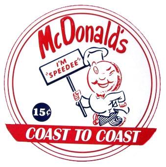 McDonald's Speedee logo (1953 - 1962)