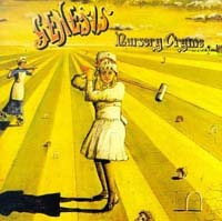 Nursery Cryme (1971) album cover