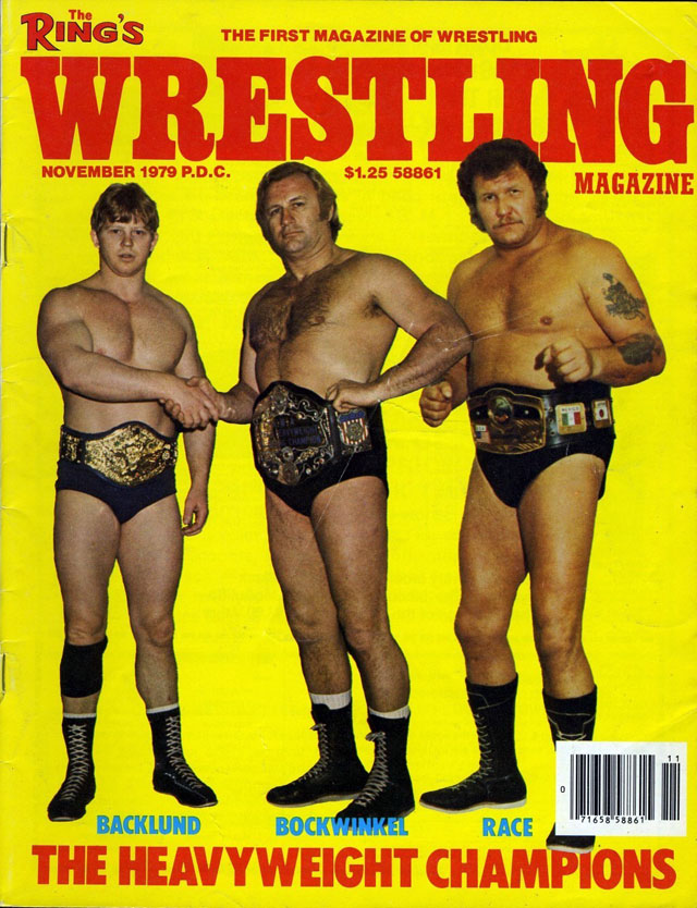 Wrestling Magazine - November 1979
