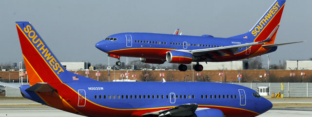 Southwest Airlines jets