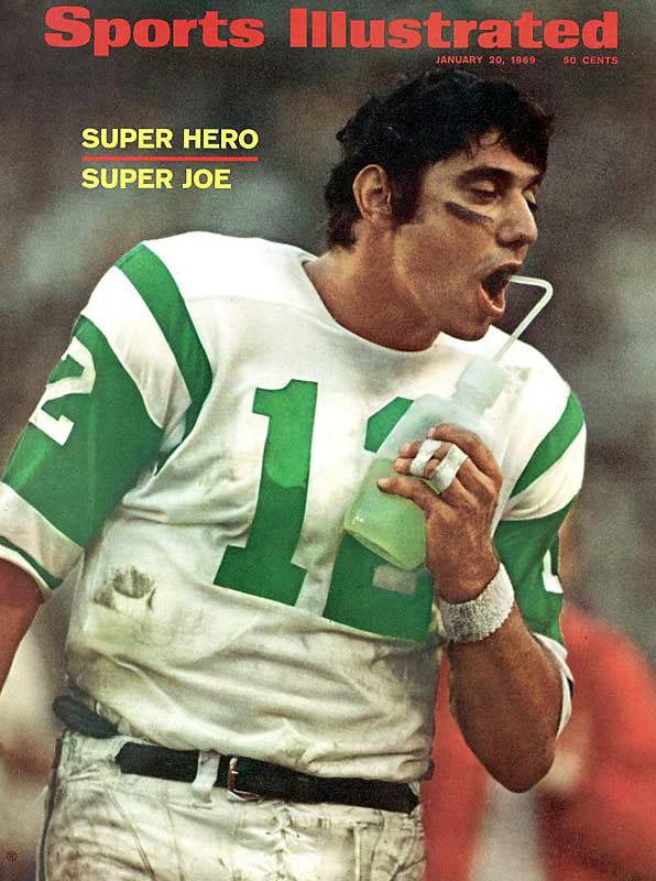 Joe Namath of the New York Jets