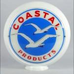 Coastal Products vintage gas pump globe