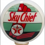 Texaco Sky Chief vintage gas pump globe