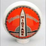 Hiotane vintage gas pump globe