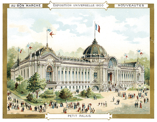 Vintage World's Fair postcard - Paris (1900)