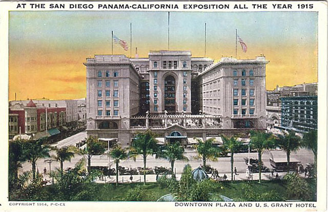 Vintage World's Fair postcard - San Diego (1915)