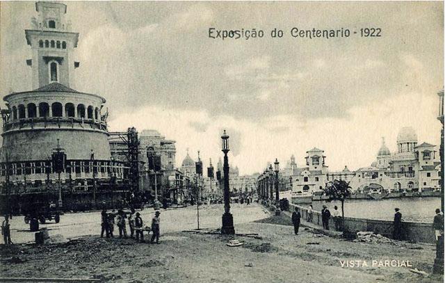 Vintage World's Fair postcard - Rio de Janeiro (1922)