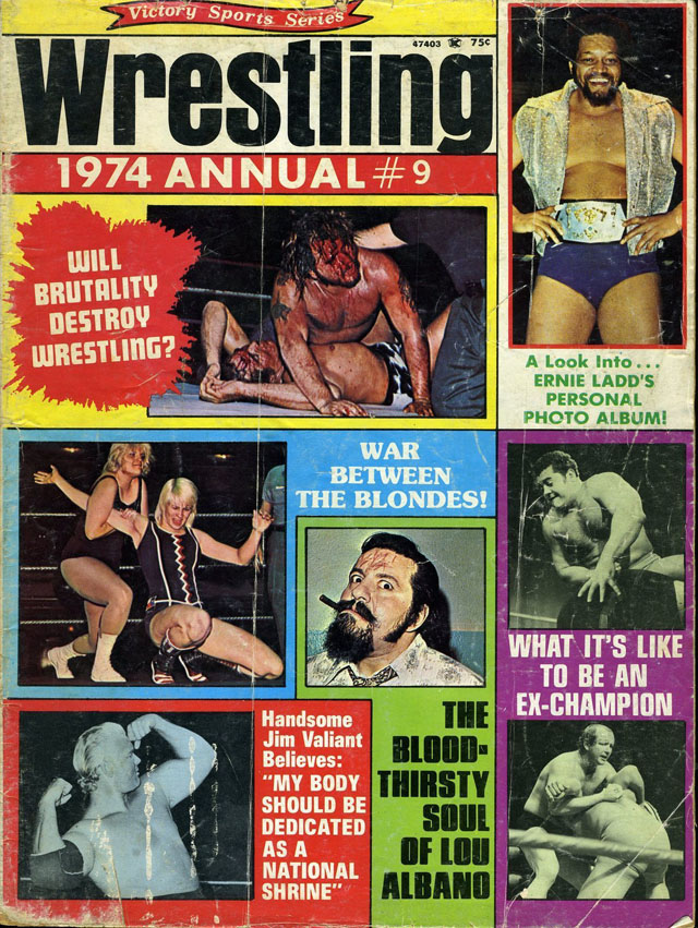 Victory Wrestling Annual #9 - 1974