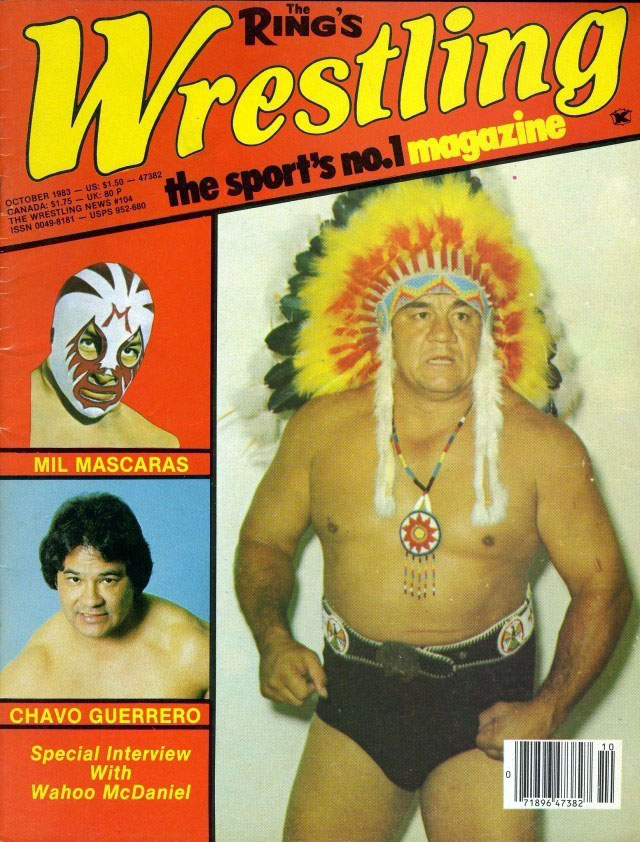 Wrestling Magazine - October 1983