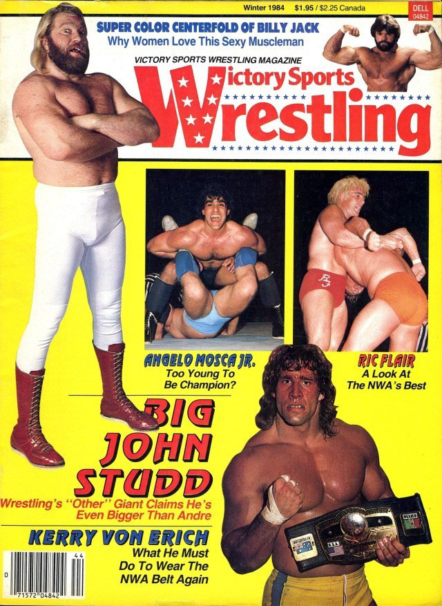 Victory Sports Wrestling Magazine - Winter 1984