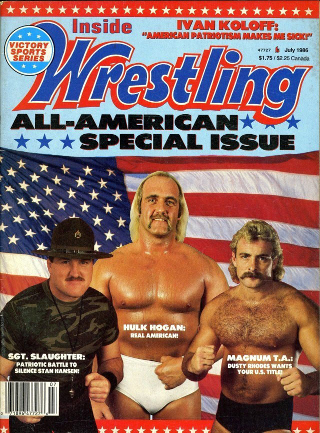 Inside Wrestling - July 1986