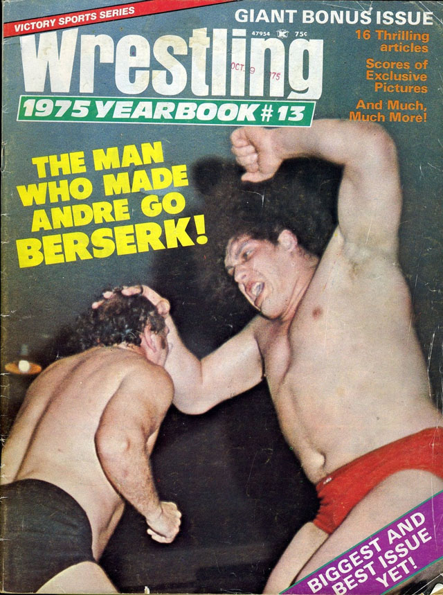 Victory Wrestling Yearbook #13 - 1975