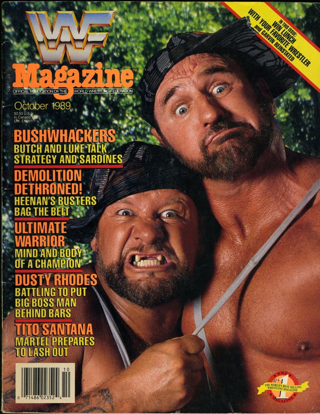 WWF Magazine - October 1989