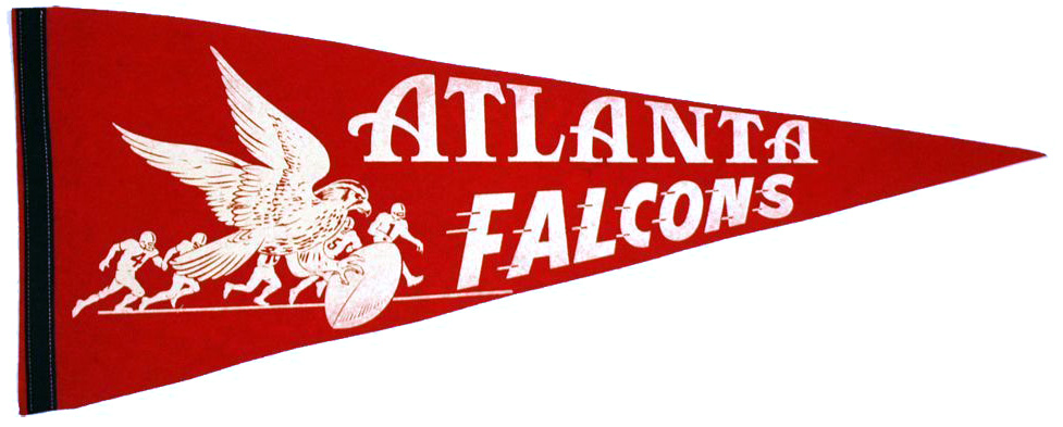 1966 Atlanta Falcons pennant