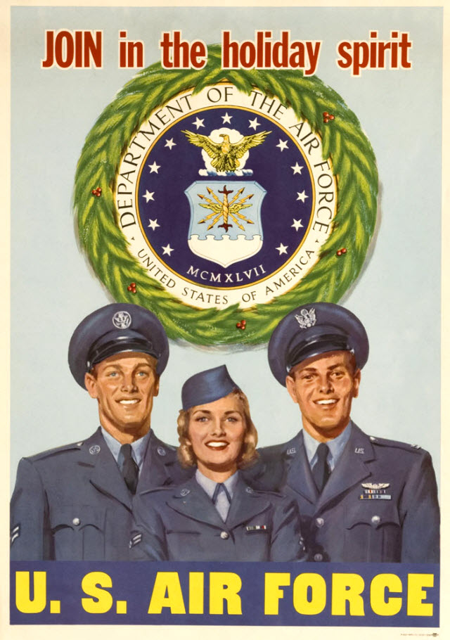Korean War era recruiting poster