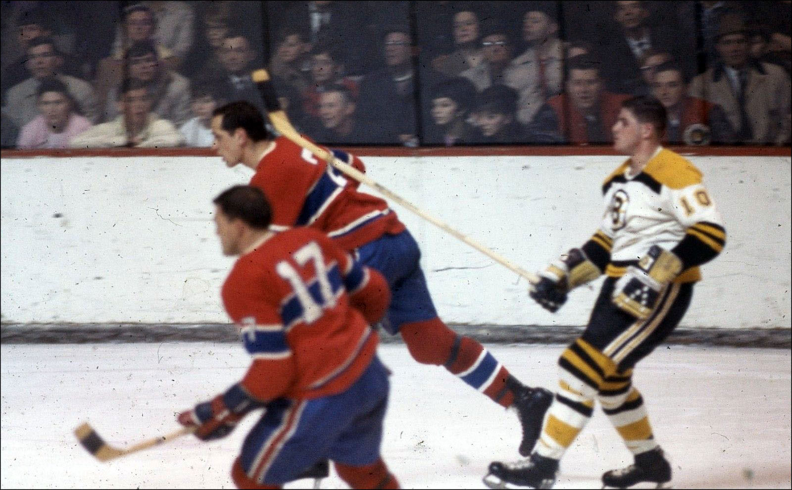 Boston Bruins vs. Montreal Canadiens, c. 1965-67