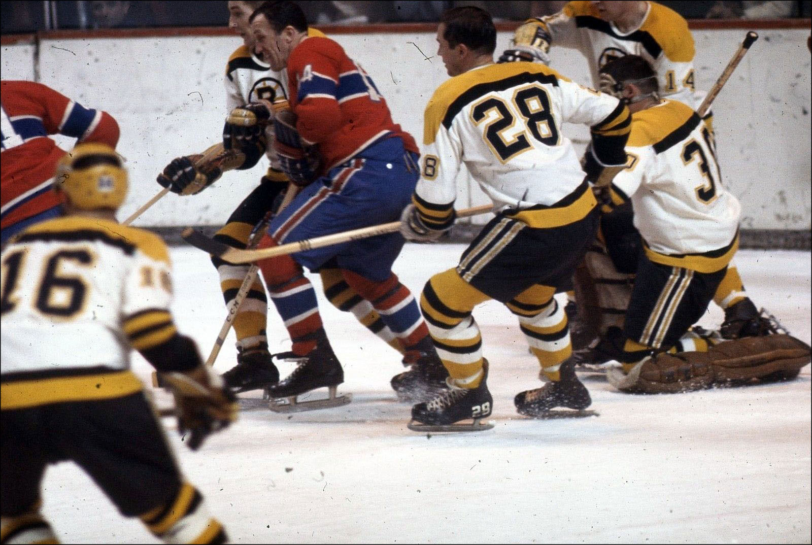 low priced c5a4b 9a429 The Sporting Life #2: Bruins vs. Canadiens, Mid-1960s ...