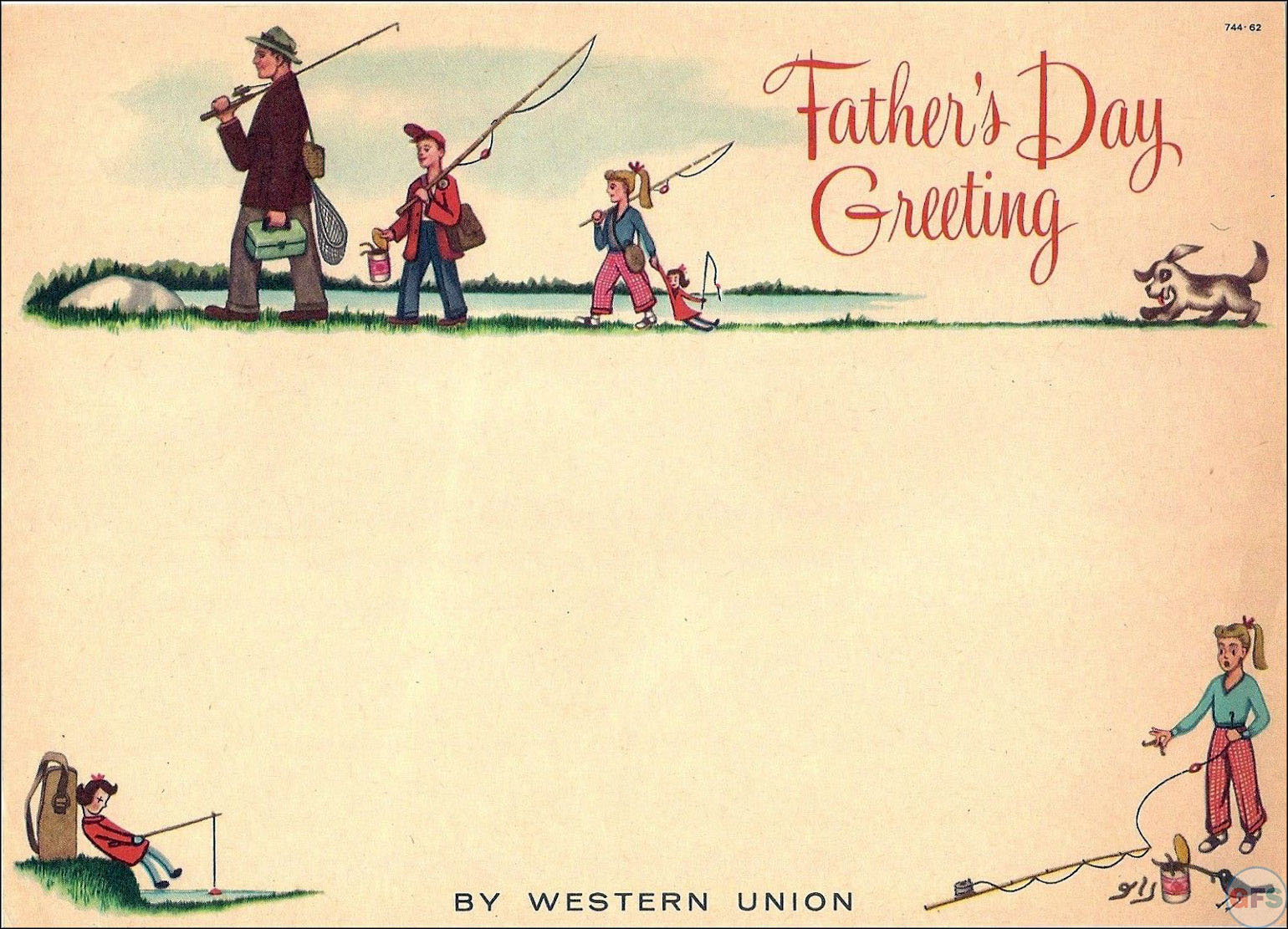 Western Union Father's Day Telegram