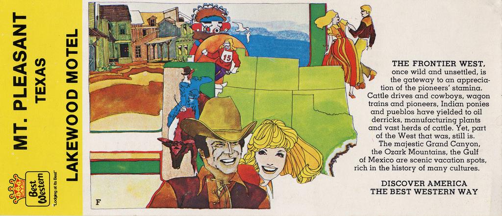 Best Western postcard front