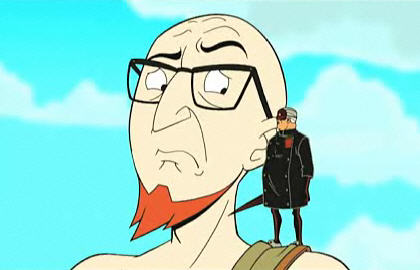 "Dr. Venture & Dr. Henry Killinger in ""The Doctor Is Sin"" (The Venture Bros.)"