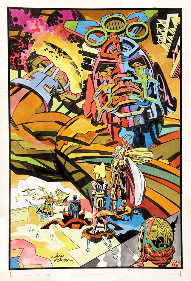"""Out of Mind's Reach"" by Jack Kirby"
