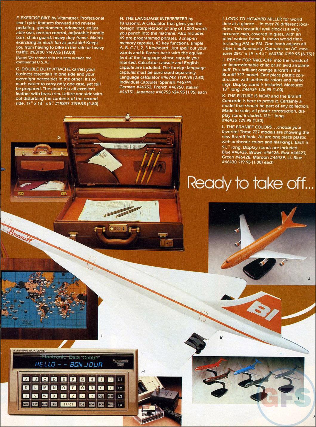 Braniff International Collection Catalog