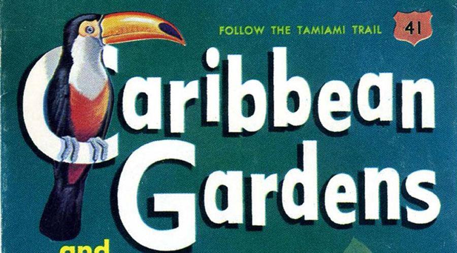 Brochure Beauties #3: Caribbean Gardens in Naples, Florida