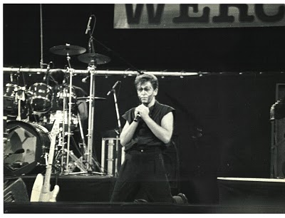 Peter Gabriel at Rock Werchter, 1983