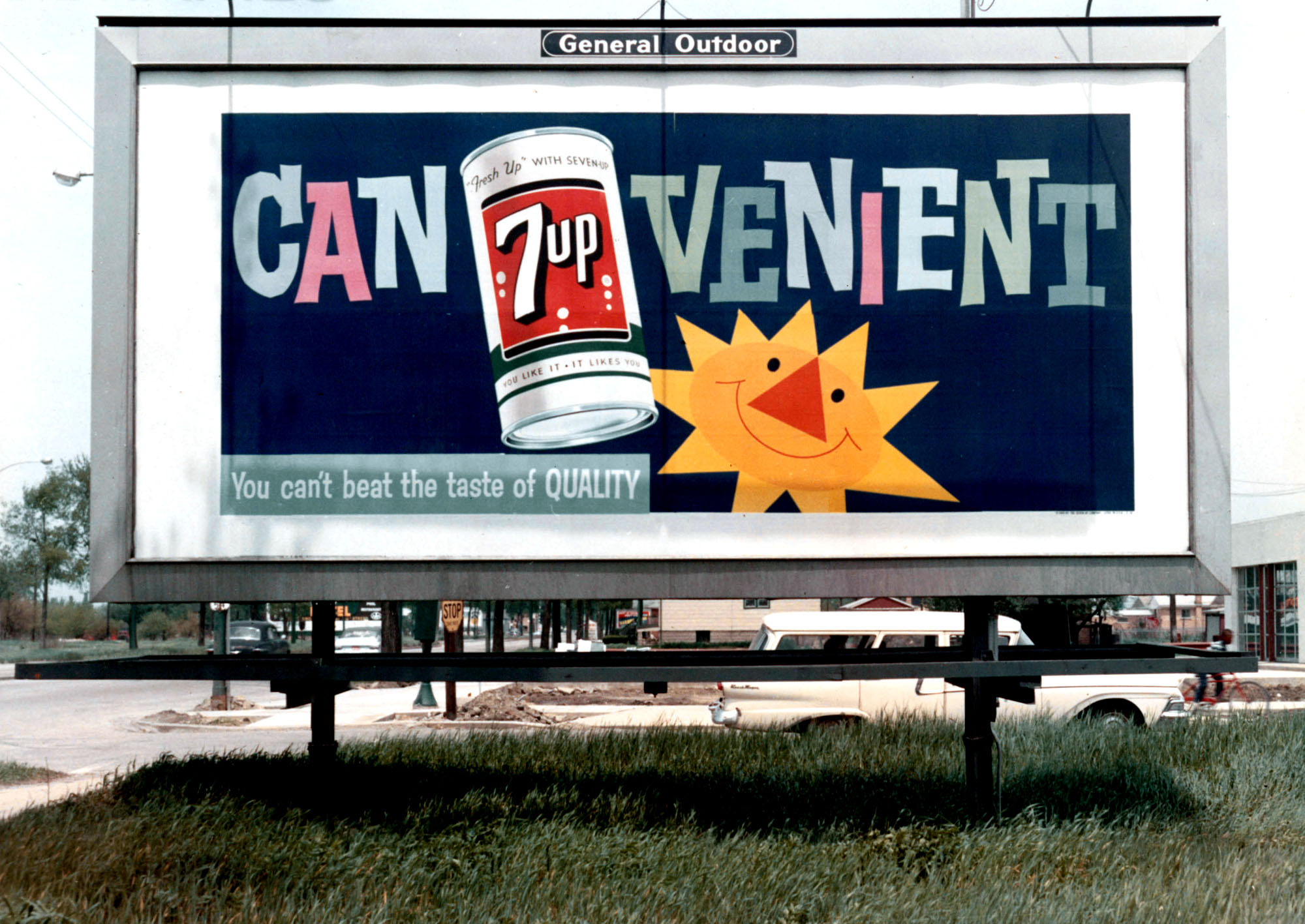 7 Up billboard ad (1950s?)