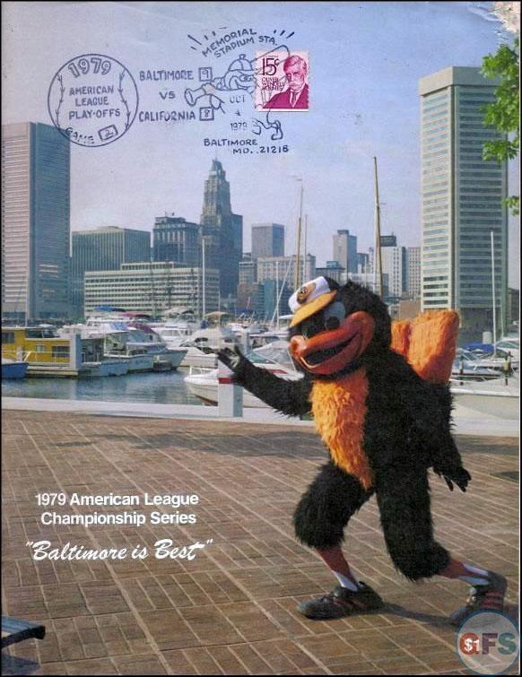 Baltimore Orioles ALCS Scorecard - 1979