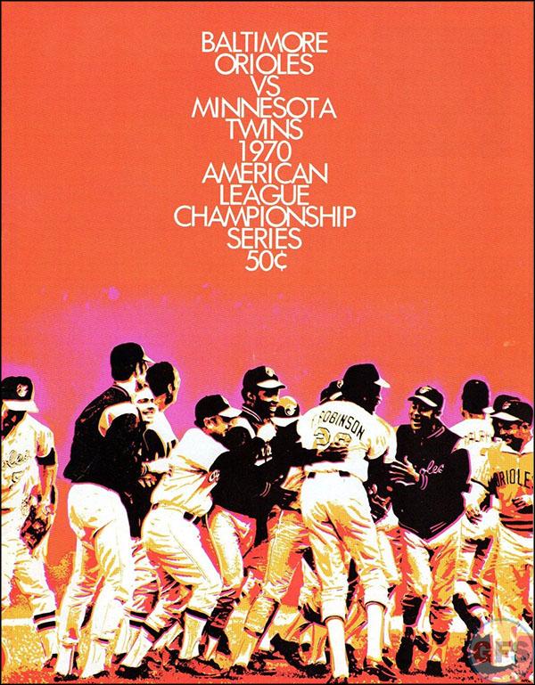 Baltimore Orioles ALCS Scorecard - 1970