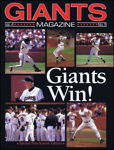 San Francisco Giants NLCS Program - 1989