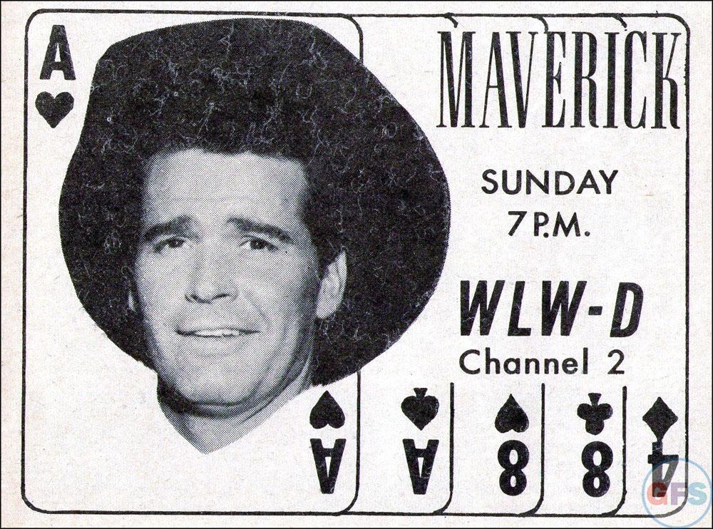 Maverick 1958 TV Guide ad