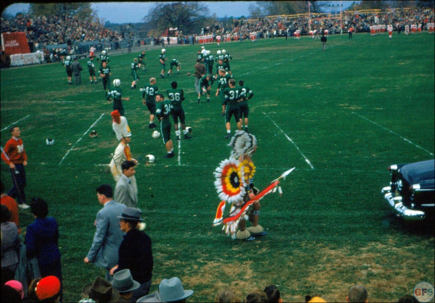 Miami University (OH) Homecoming, 1953