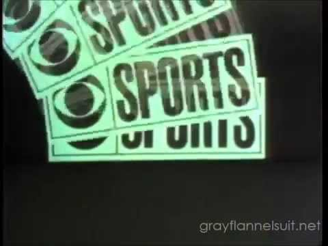 Fantastic 1969 CBS NFL Today Opening Bumper