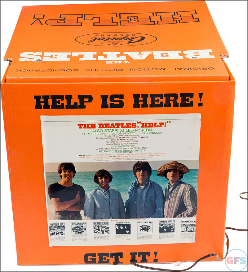 Beatles Help! Motorized Promotional Display (Capitol, 1965)