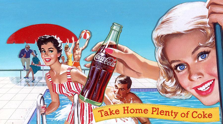 Vintage Coca-Cola Advertising, Pt  1 | grayflannelsuit net