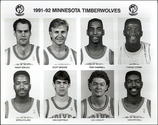 1991-92 Minnesota Timberwolves