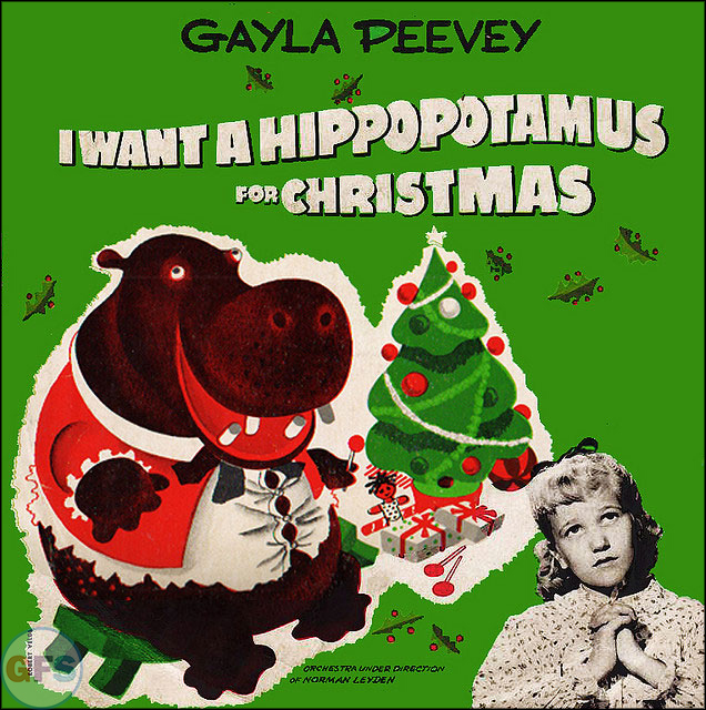 "Gayla Peevey - ""I Want a Hippopotamus for Christmas"" (1953)"