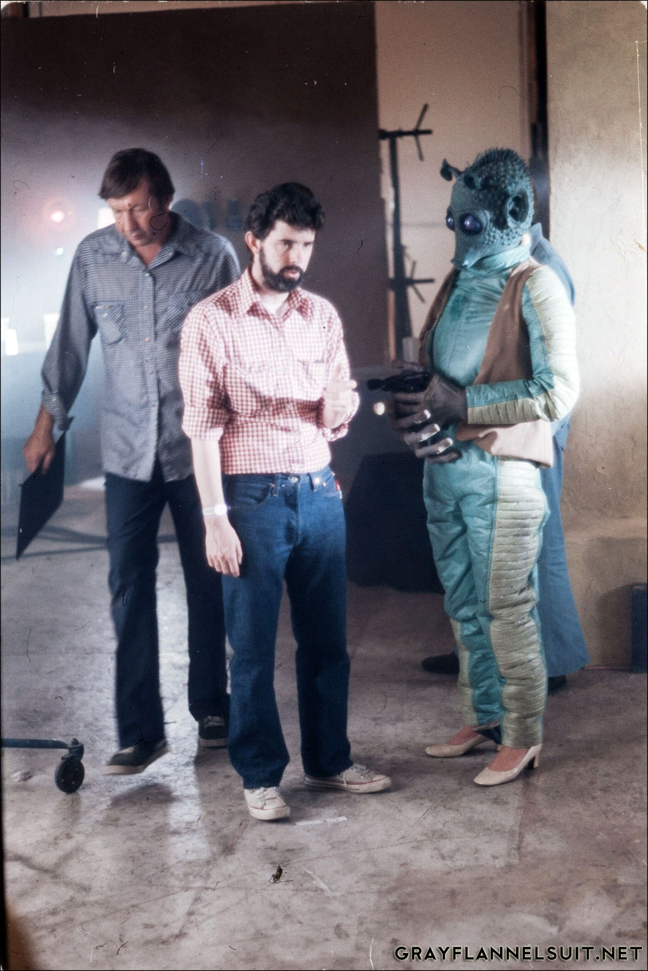 George Lucas and Greedo
