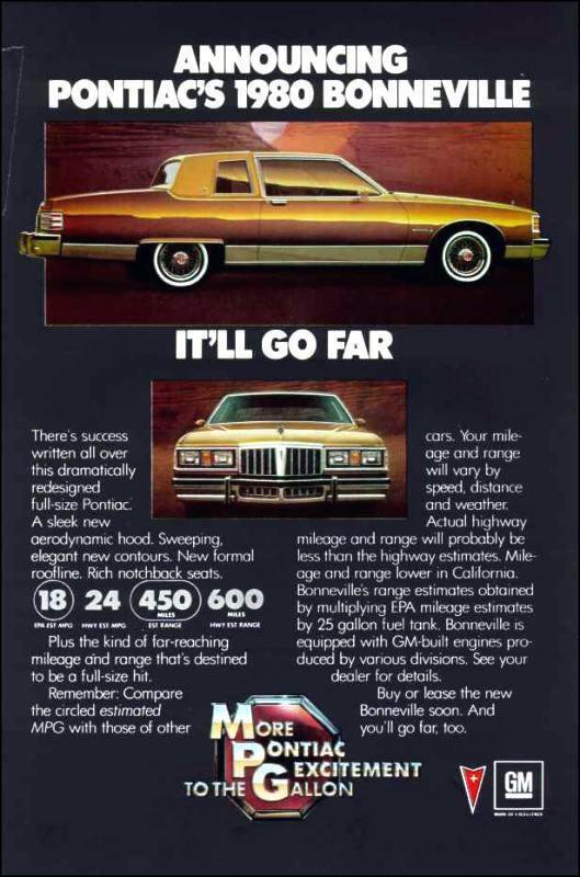 1980 Pontiac Bonneville ad