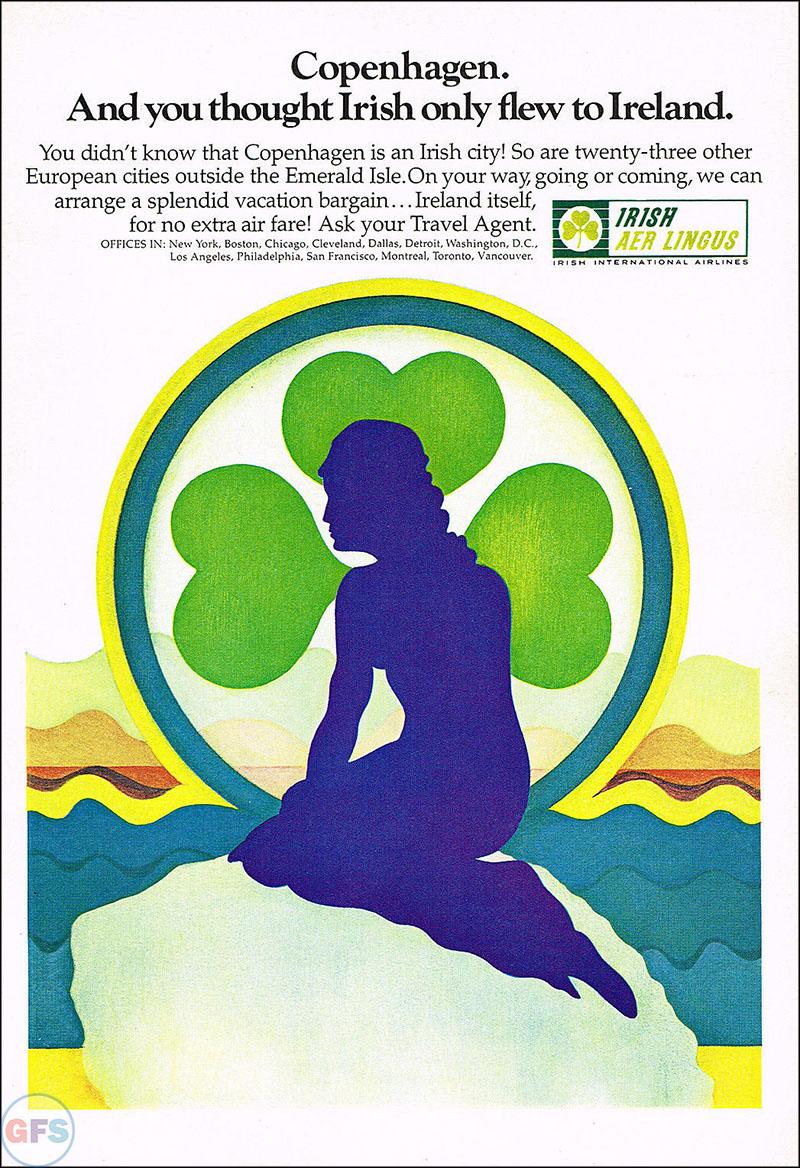 1969 Aer Lingus print ad