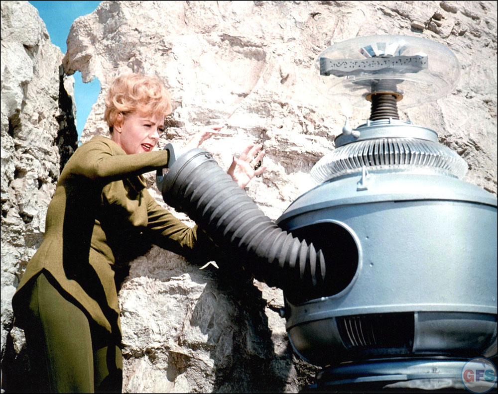 June Lockhart and The Robot, Lost In Space