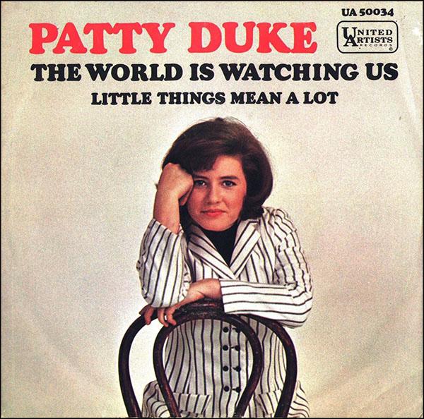 "Patty Duke record, ""The World Is Watching Us"""